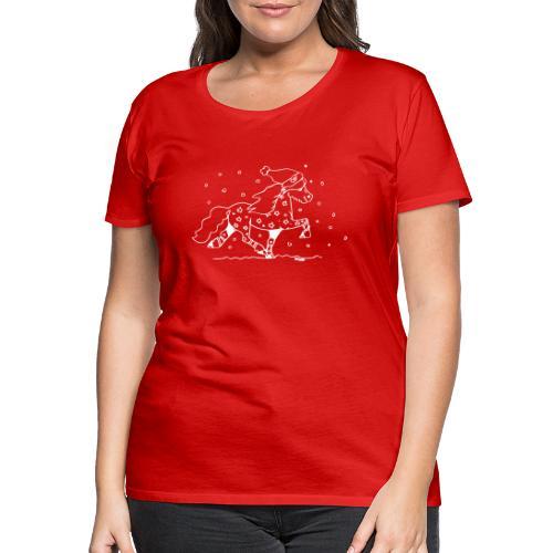 Weihnachtstölter - Frauen Premium T-Shirt