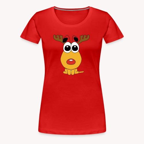 Sansone vestito da renna di Babbo Natale - Maglietta Premium da donna