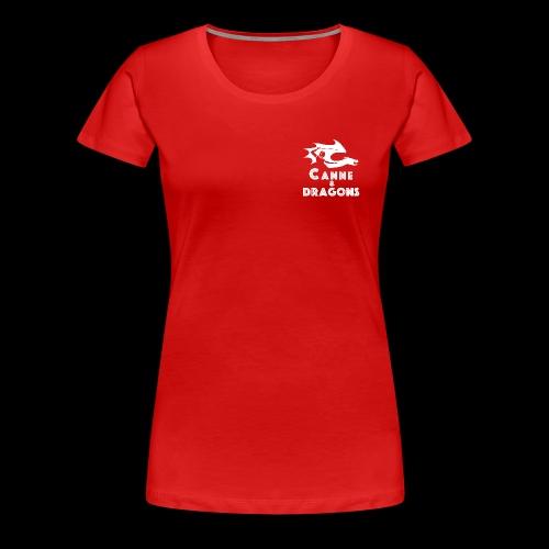 logoC D N B - T-shirt Premium Femme