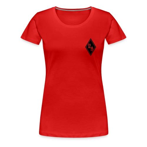 Lucky Sinner Ride Hard F*** Har Original - Frauen Premium T-Shirt