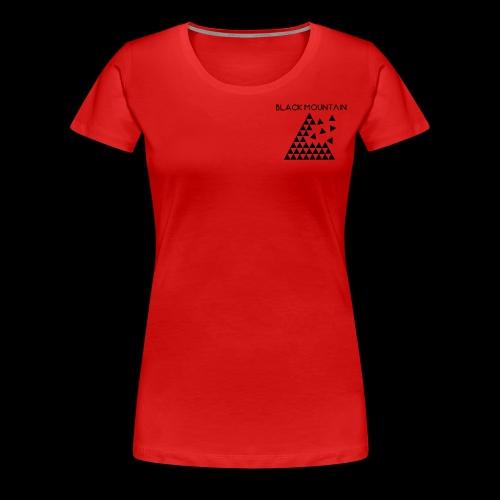 Black Mountain - T-shirt Premium Femme