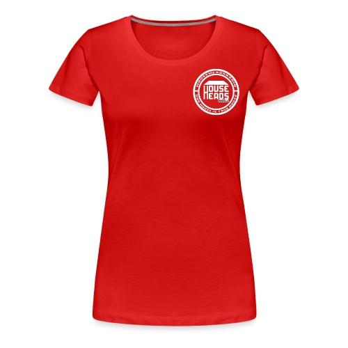 HouseHeadsRadio NEW LOGO 2 - WHITE - Women's Premium T-Shirt