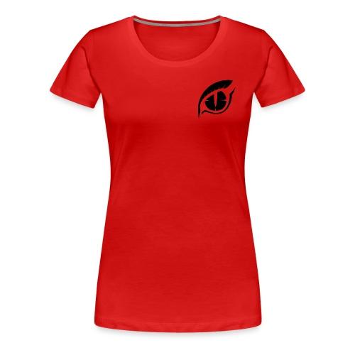 PwnZ Logo Noir - T-shirt Premium Femme