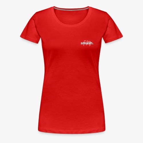 smashFM Logo Hell - Frauen Premium T-Shirt