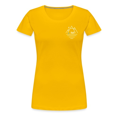 Mountains Woman - Women's Premium T-Shirt