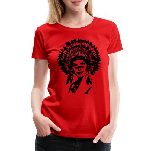 Indienne - T-shirt Premium Femme