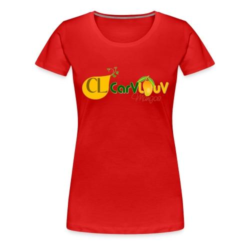 CarVlouV - Camiseta premium mujer