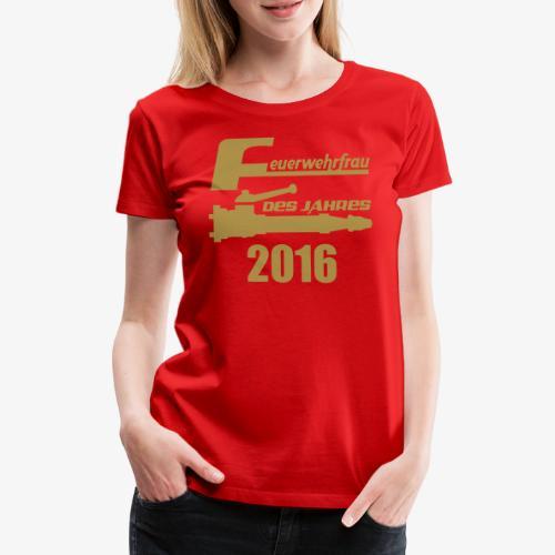 Feuerwehrfrau des Jahres - Frauen Premium T-Shirt