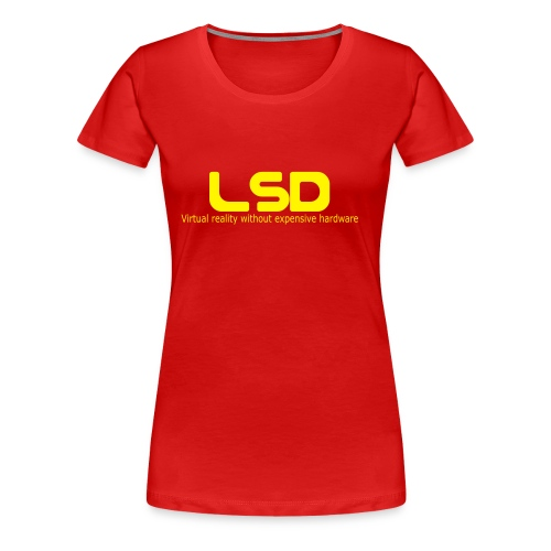11331 85760 lsd1 orig - Frauen Premium T-Shirt