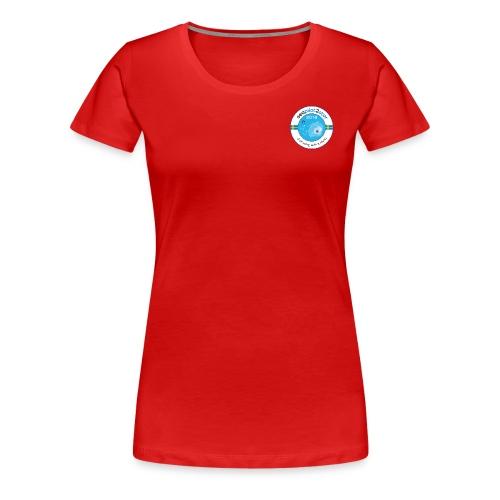 Seapilot2star 2018 logotyp - Premium-T-shirt dam