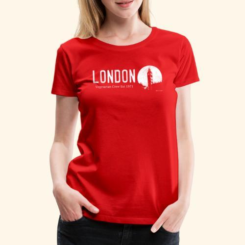 London Vegetarian Crew - Women's Premium T-Shirt