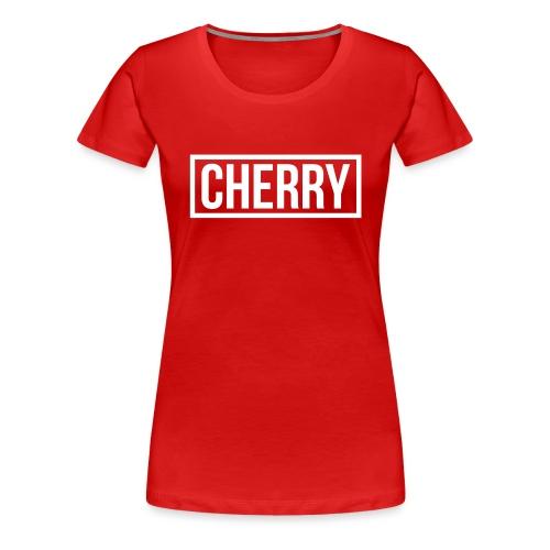 Cherry White - Vrouwen Premium T-shirt