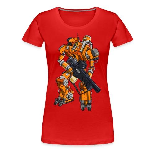 System Reboot Podcast Robot - Women's Premium T-Shirt