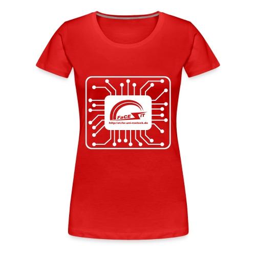 fi logo - Frauen Premium T-Shirt