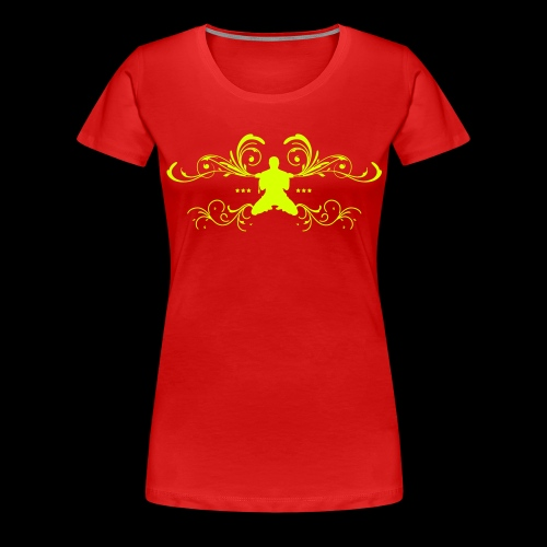 MTS92 TRIBAL POWER - T-shirt Premium Femme
