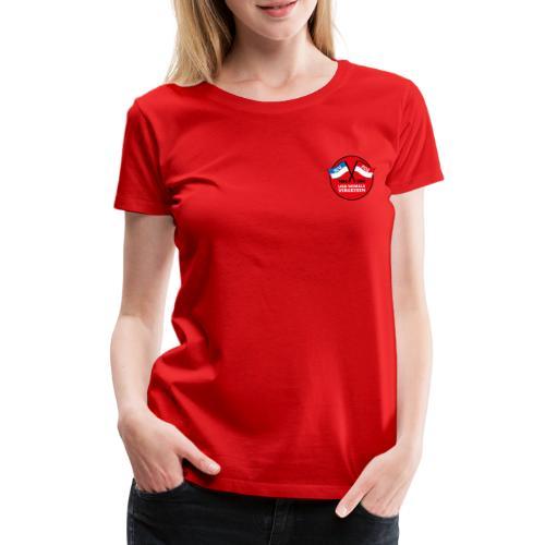 20190130 UNV RUND spreads - Frauen Premium T-Shirt