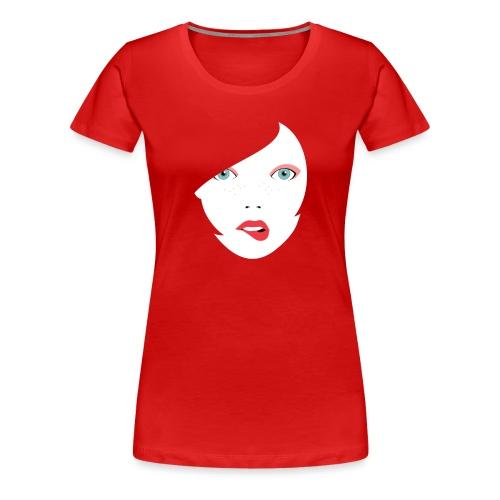 Red Lips - Frauen Premium T-Shirt