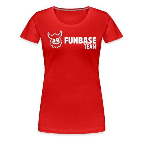 Funbase Host - Women's Premium T-Shirt