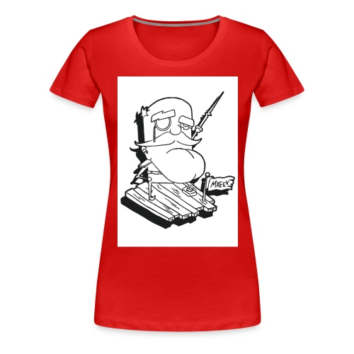Captain jpg - Frauen Premium T-Shirt