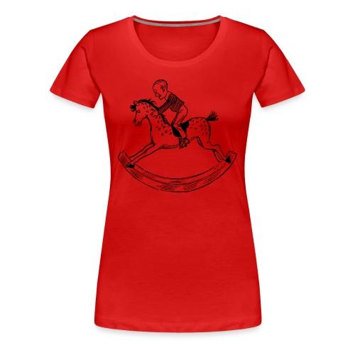 konik na biegunach - Koszulka damska Premium