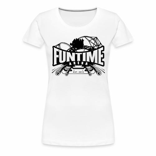 Schiene - Frauen Premium T-Shirt