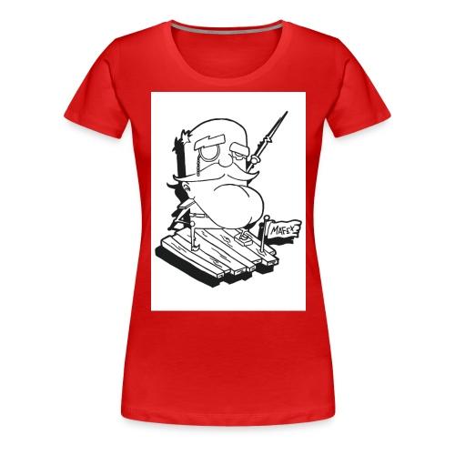 Captain jpg - Frauen Premium T-Shirt