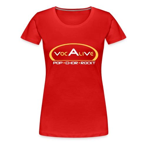 voc tshirt vorne rotorange kopie - Frauen Premium T-Shirt
