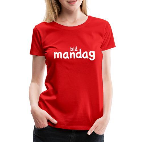 konfirmand2012 blaam2ecb91 - Dame premium T-shirt