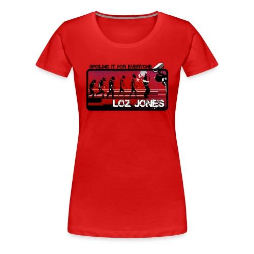 'Spoiling It For Everyone' Album Design - Women's Premium T-Shirt