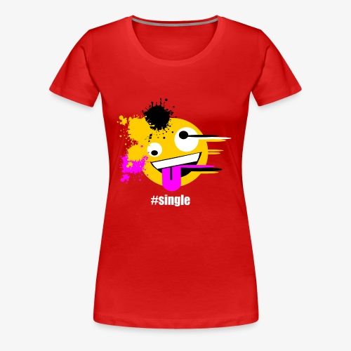Emoji Art #single - Frauen Premium T-Shirt