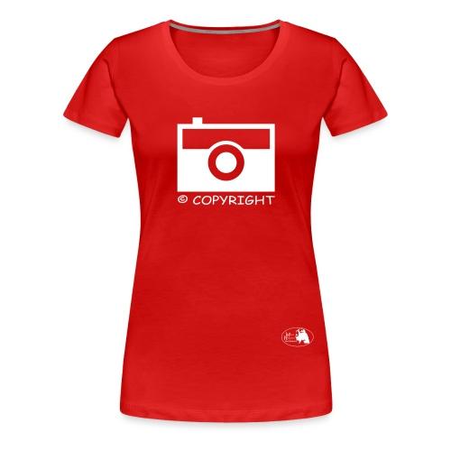 copyright Maya Hakvoort Exclusive - Frauen Premium T-Shirt