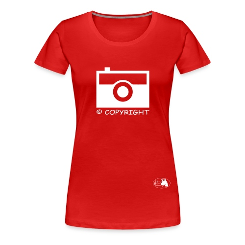 copyright Maya Hakvoort Exclusive - Frauen Premium T-Shirt