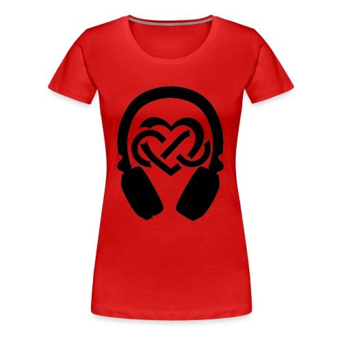 Liefde voor muziek - Vrouwen Premium T-shirt