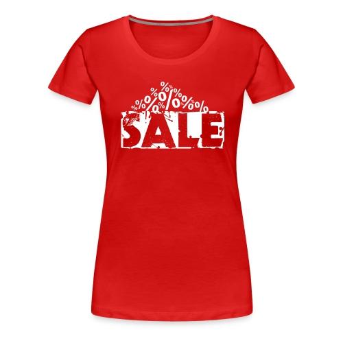 Sale - Ausverkauf - Frauen Premium T-Shirt
