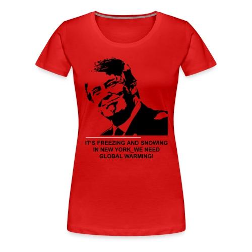 global_warming2 - Frauen Premium T-Shirt
