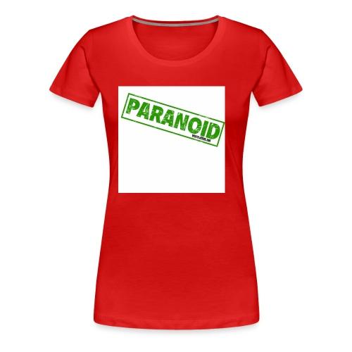 paranoid - Women's Premium T-Shirt