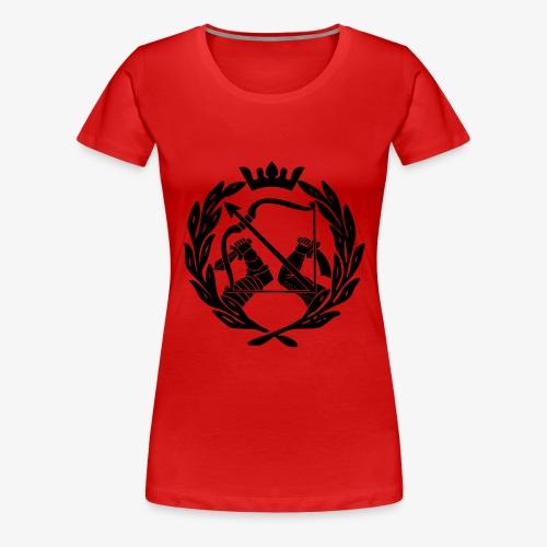 sko_logo - Naisten premium t-paita