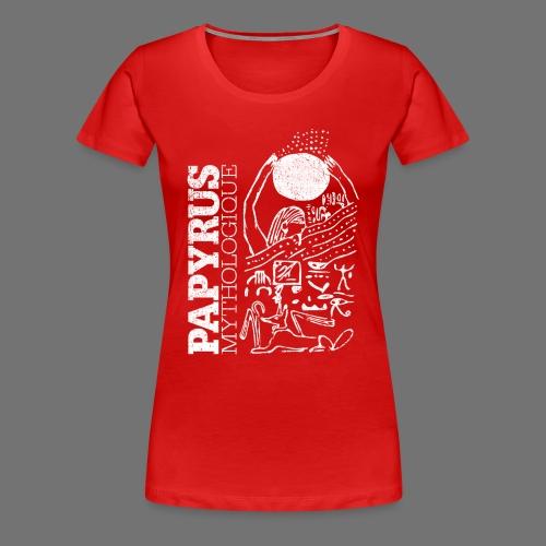Papyrus Mythologique (white) - Frauen Premium T-Shirt