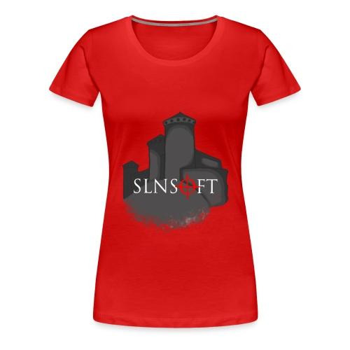 slnsoft - Naisten premium t-paita