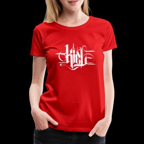 kielcallylogowhite - Frauen Premium T-Shirt