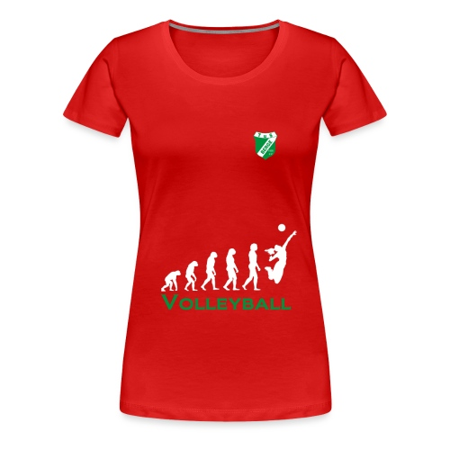 volleyball_Berge - Frauen Premium T-Shirt