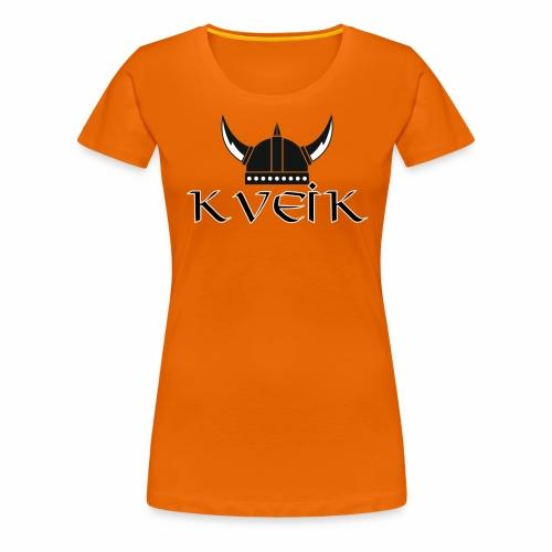 KVEIK - Premium T-skjorte for kvinner