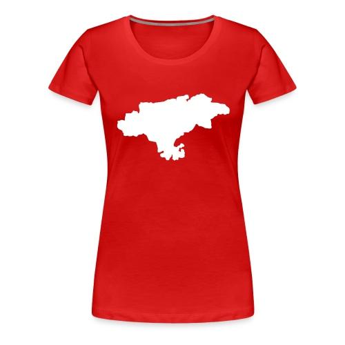 Cantabria - Camiseta premium mujer
