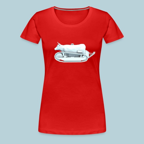 RATWORKS Milk Tank - Women's Premium T-Shirt