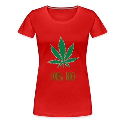 100 BIO - T-shirt Premium Femme