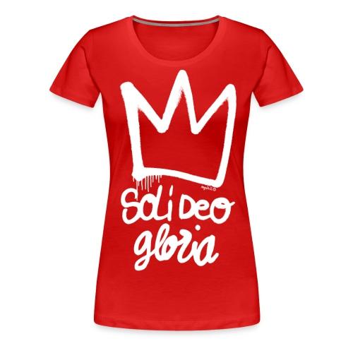 Soli deo Gloria Scraz - T-shirt Premium Femme