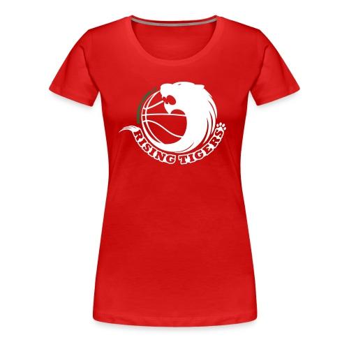 rising tigers zweifarbig - Frauen Premium T-Shirt