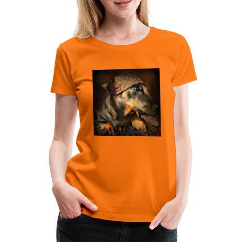 Biker Pinia - Frauen Premium T-Shirt
