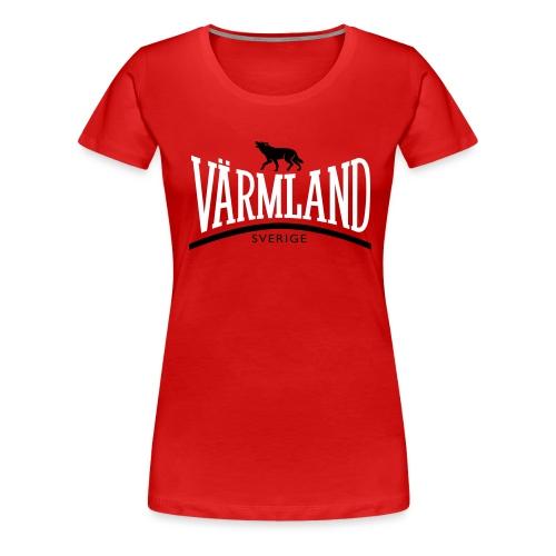 VÄRMLAND - Premium-T-shirt dam