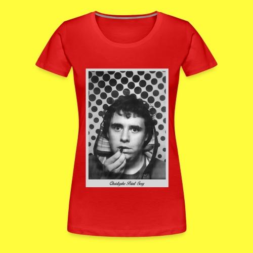 The Face - T-shirt Premium Femme